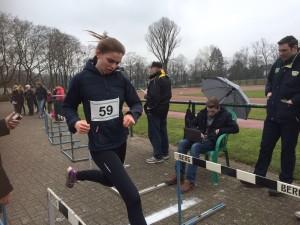 Miriam beim Zieleinlauf