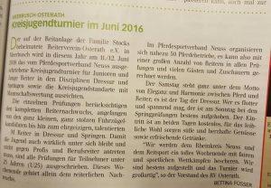 Quelle: Rheinlands Reiter Ausgabe 06/2016