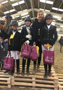 Siegerteam: Antonia, Alix, Paul, Anna
